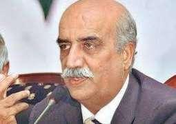 Imran is strengthening Nawaz, Khursheed Shah claims