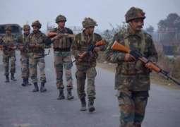 بھارتی فوج دی بھمبر سیکٹر اُتے اک وار فیر فائرنگ