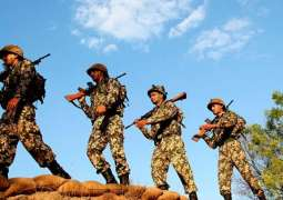بھارتی فوج ولوں ایل او سی اُتے سیز فائر دی خلاف ورزی دا سلسلا جاری
