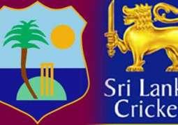 ترائے ملکی کرکٹ سیریزداپنجواں میچ (اج) سری لنکا اتے ویسٹ انڈیز وچال کھیڈیا ویسی