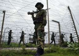 بھارتی فوج دی کنٹرول لائن اُتے فائرنگ و گولا بار