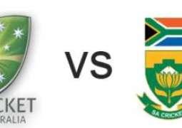 آسٹریلیا اتے جنوبی افریقہ دیاں کرکٹ ٹیماں وچال تریجھا اتے چھیکڑی ٹیسٹ میچ (اج)توں شروع تھیسی