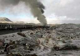 ایران دے صوبے سیمنان وچ دو ریل گڈیاں وچکار ٹکر، کئی بندے ہلاک