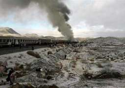 Trains collided in Semnan, several killed