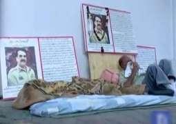 کراچی دے شہری دا آرمی چیف جنرل راحیل شریف نال محبت دا انوکھا انداز