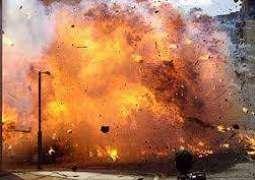 Blast in Nasirabad, 1 dead