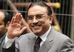 Zardari makes a phone call to COAS