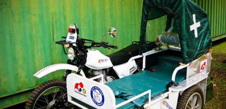 Motorcycle ambulances to be introduced in Punjab