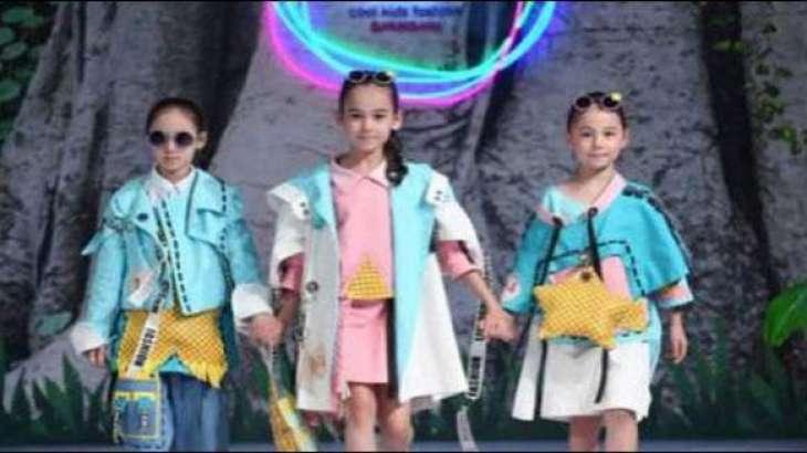 Kids Fashion show in China
