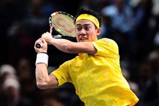 Tennis: Nishikori lands milestone win in Paris