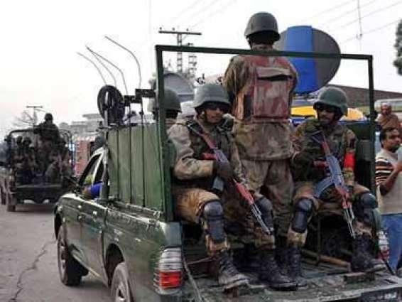 قوات الأمن الباكستانية تعلن قضاء على تسعة إرهابيين