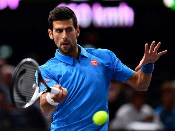 Tennis: Djokovic marches into Paris Masters third round