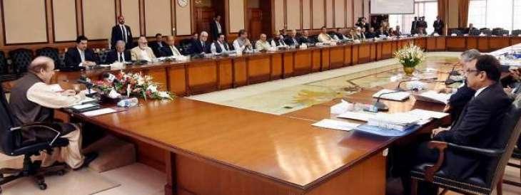 وفاقی کابینہ دا اجلاس، وزیراعظم نے عمران خان دا ناں لِتے بغیر تنقید دا نشانا بنایا  اسیں منفی سیاست نوں دفن کر دِتا پر ایہ فیر وی نہیں سمجھے ، اسیں تے پہلے ای پاناما لیکس دے معاملے اُتے عدالت نال رابطا کیتا سی تے ہن وی عدالتی کمیشن دا فیصلا مناں گے، فیصلا بھاویں ساڈے حق وچ ہووے یاں خلاف اسیں نتیجے لئی تیار آں:وزیراعظم دی صدارت ہیٹھ ہون والے اجلاس دی اندرلی کہانی