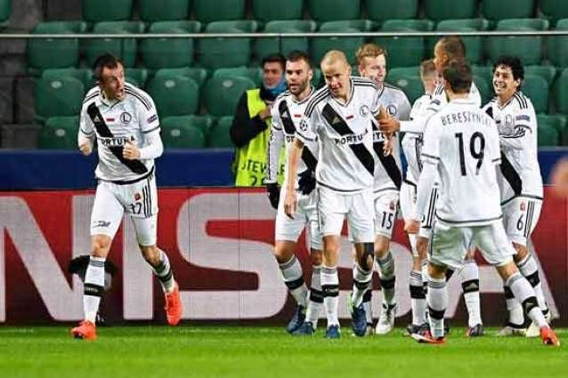 Football: Real Madrid held by Legia in six-goal thriller
