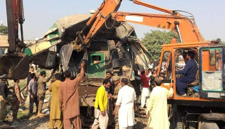 Trains crash kills 20 in Karachi