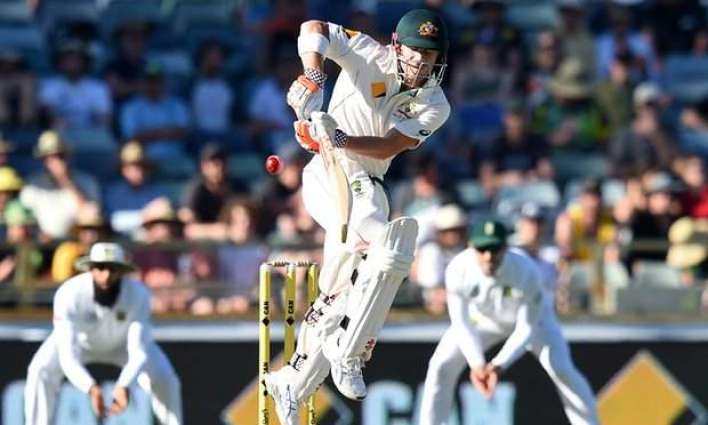 CORRECTED: Cricket: Australia 105-0 against South Africa
