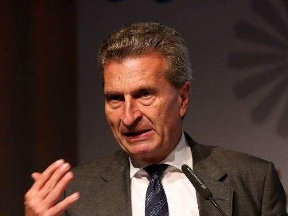 EU's Oettinger apologises for derogatory China remarks: statement