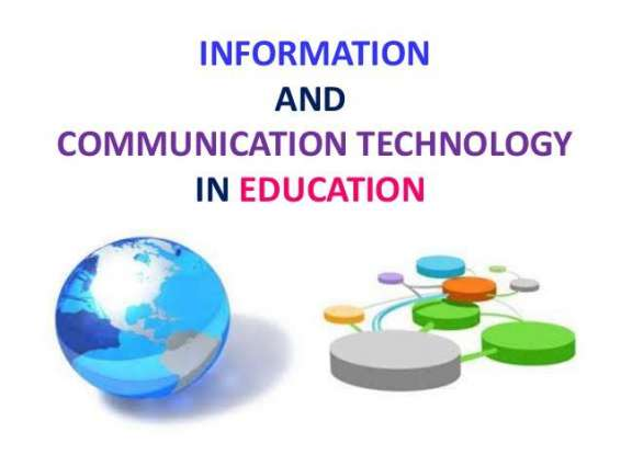 ICTs being utilized to improve education standards