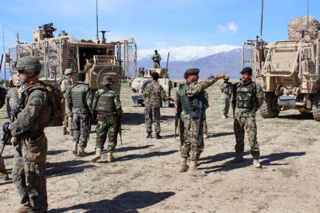د افغان ځواكونو لخوا په فارياب كښې د عملياتو په مهال د 31 عسكريت خوښو وژلو ادعا