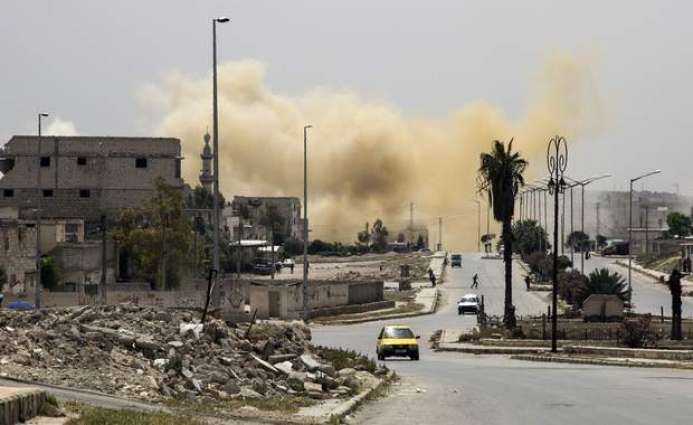 Syria rebels launch new attacks to end Aleppo siege