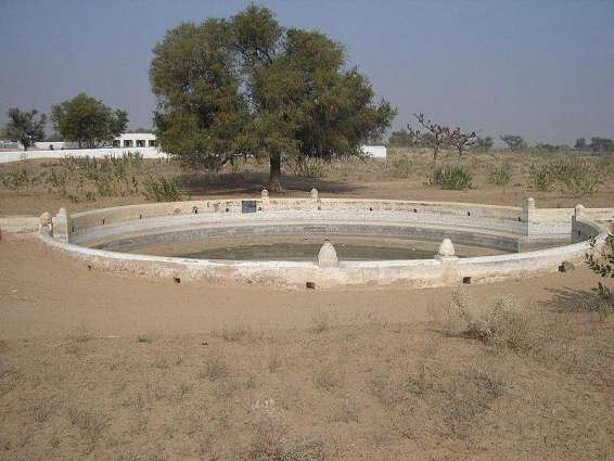 Barren land in Thar to be irrigated with subsoil water