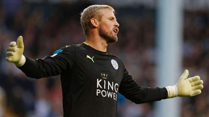 Football: Schmeichel out for a month with broken hand