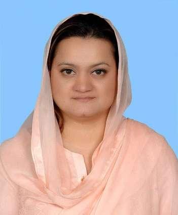 وزیر مملکت ، برائے اطلاعات ءُُ نشریات مریم اورنگزیب ءِ پاکستان براڈ کاسٹر ایسو سی ایشن ءِ نوک گچین چیئر میاں عابر محمود ءَ مبارکباتی