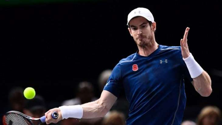 Tennis: Murray routs Pouille in Paris last 16