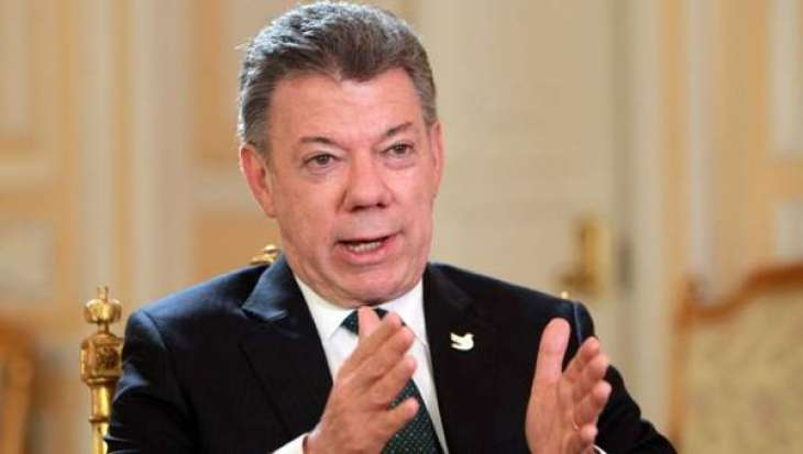 Colombian president 'inspired' by N. Irish peace process