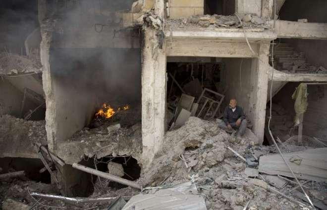 Russia-announced ceasefire to start in Syria's Aleppo