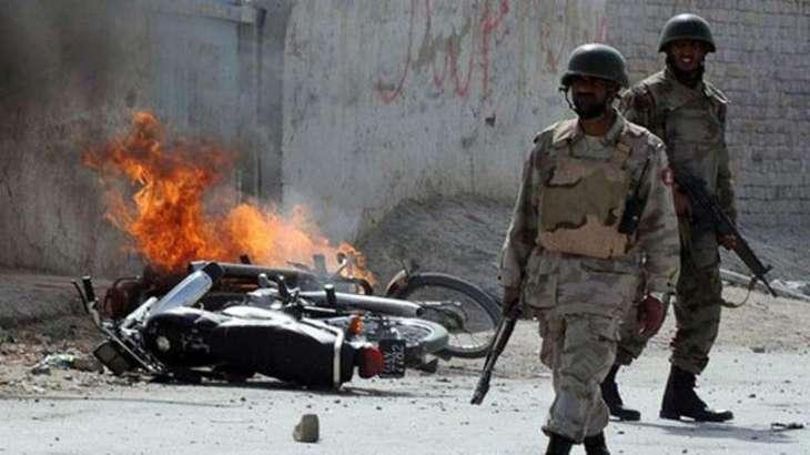 One person killed in mine blast in district Lehri