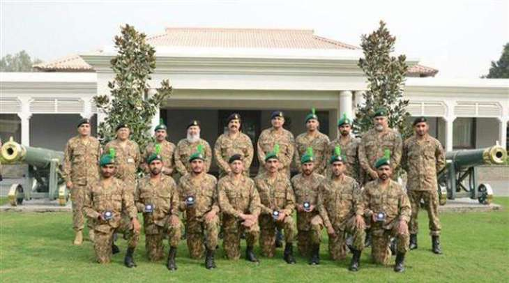 """COAS Praises Army Team For Winning Gold Medal in """"Exercise Cambrian Patrol"""""""