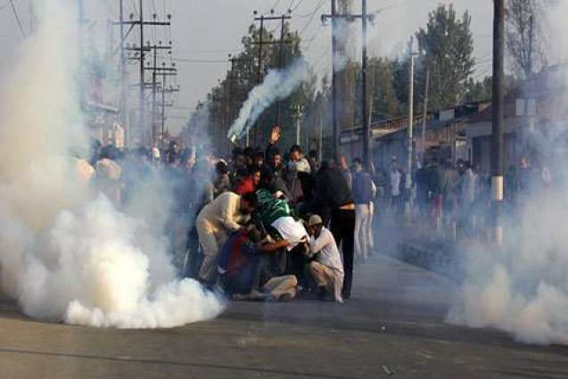 APHC condemns Indian forces shelling on shrine of Jenab Sahib