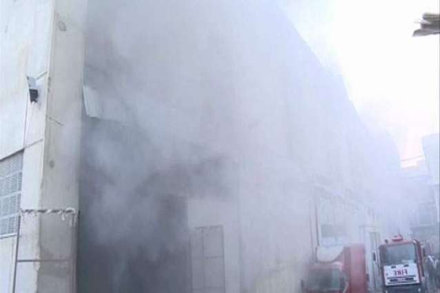 Fire erupts in a garment factory in FB industrial area