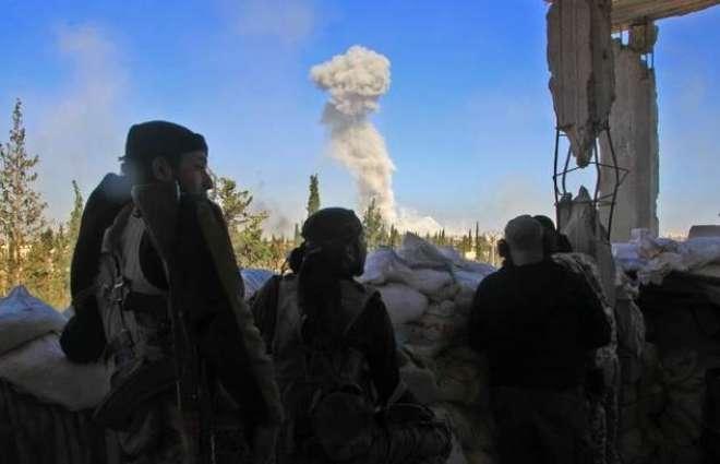 Russian-declared ceasefire begins in Syria's Aleppo