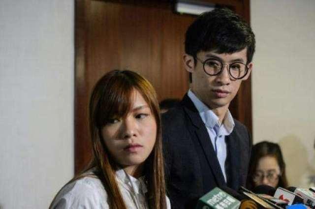 China wades into Hong Kong rebel lawmaker oath battle
