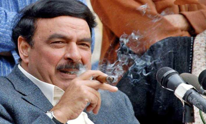 """""""Preparing to deal with the politicians"""": Sheikh Rasheed joins gym"""