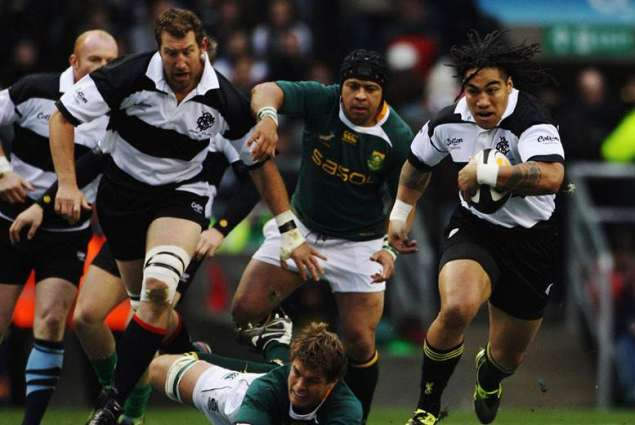 RugbyU: Barbarians v South Africa teams