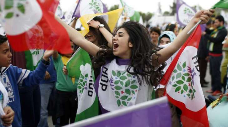 Pro-Kurdish party says MPs' detentions mark 'end of democracy' in