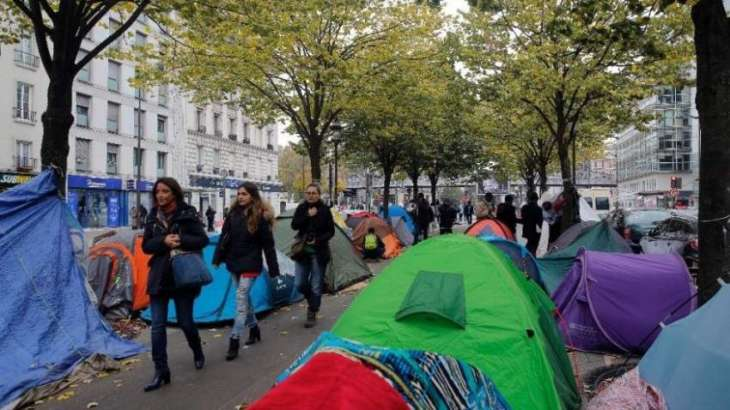 Paris migrant camp cleared, 3,800 people relocated: officials