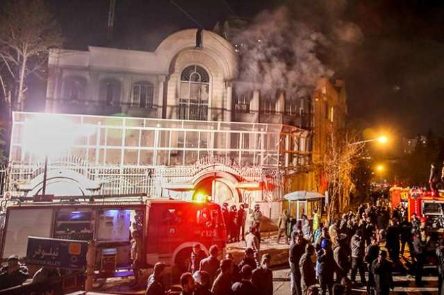 Iran sentences Saudi embassy attackers to jail: lawyer
