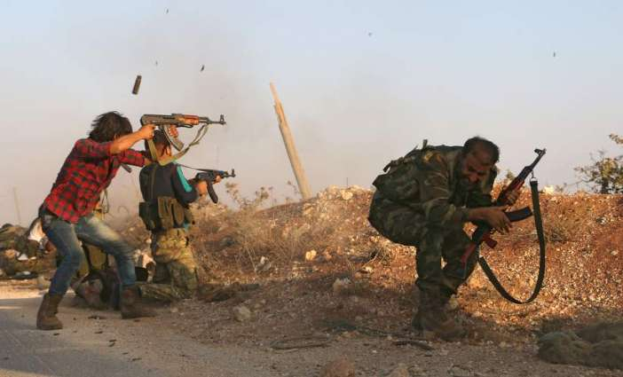 Russia says two soldiers 'lightly wounded' in Aleppo rebel shelling