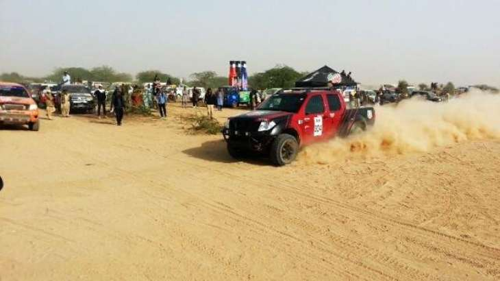 Qualifying round of Thal jeep rally completed