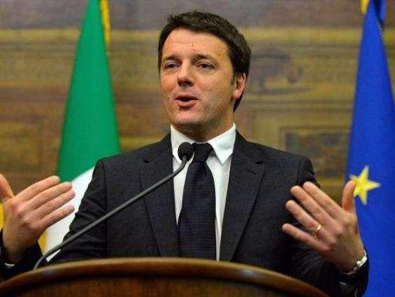 Renzi lauds Mud Angels of Florence