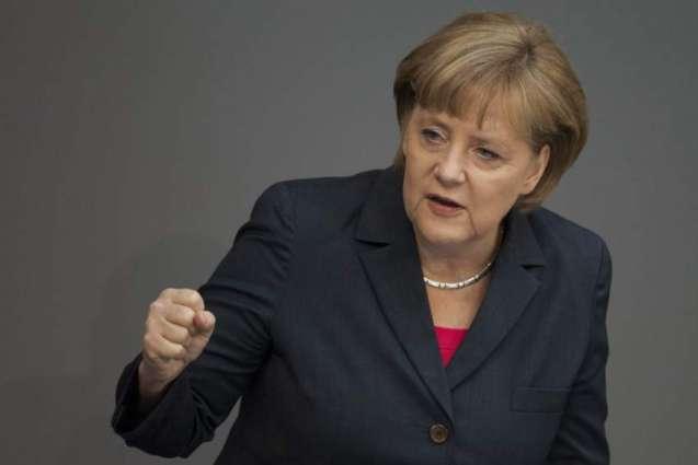 Merkel's Bavarian ally urges joint battle against left