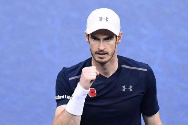 Tennis: Murray one win from top spot as Djokovic crashes