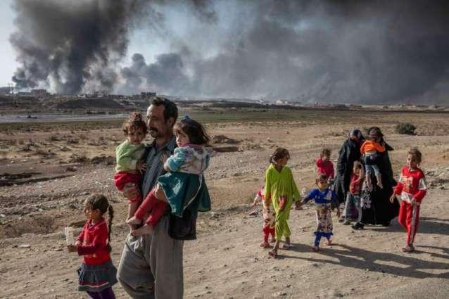 Da'esh moving abducted civilians to Mosul as shields against airstrikes, UN warns