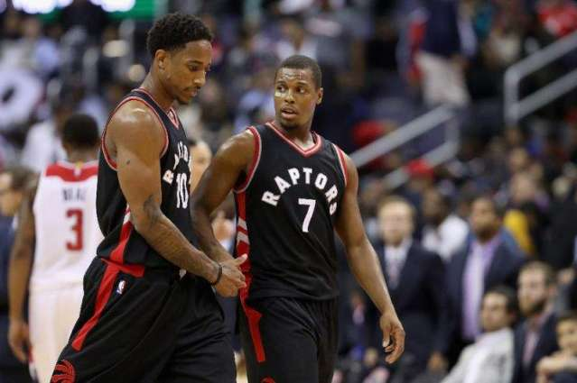 NBA: DeRozan keeps up torrid pace as Raptors down Heat