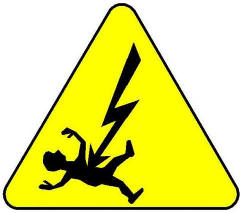 Youth electrocuted