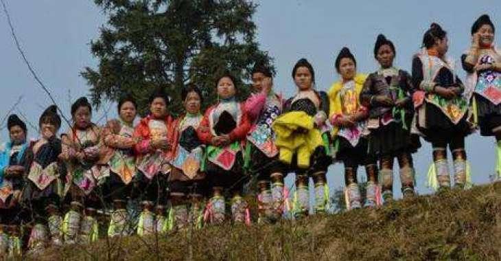 China's Miao minority welcome new year with lavish celebrations